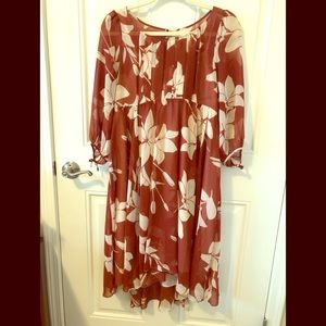 Maeve floral dress from Anthropologie.